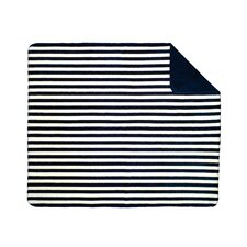 Acrylic Stripe Double-Sided Throw
