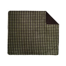 Acrylic Buffalo Check Double-Sided Throw