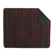 Acrylic Classic Plaid Double-Sided Throw