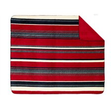 <strong>Denali Throws</strong> Acrylic Nautical Stripe Double-Sided Throw