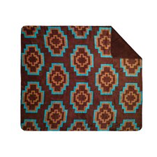 Acrylic Aztec Double-Sided Throw