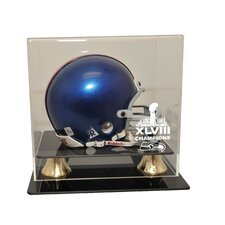 Seattle Seahawks Super Bowl 48 Champions Mini Helmet Helmet Display Case