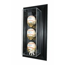 "New York Yankees NY Logo 3 Baseball ""Case-Up"" Display"