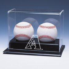 Double Baseball Display