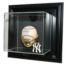 "New York Yankees NY Logo  Baseball ""Case-Up"" Display"