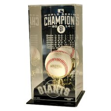 Limited Edition 2014 San Francisco Giants World Series Champions High Rise Baseball Display