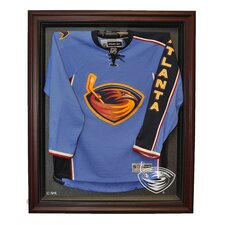 <strong>Caseworks International</strong> NHL Cabinet Style Jersey Display in Mahogany