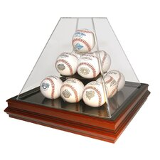 Pyramid Style 13 Ball Boardroom Display Case