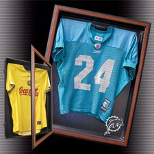 Medium Jersey Display with Cabinet Style