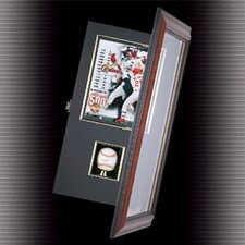 <strong>Caseworks International</strong> Coach's Choice Baseball and Photo Shadow Box Display
