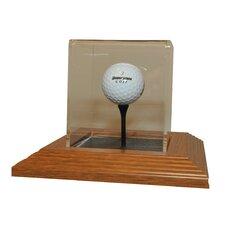 Single Golf Ball Display Case
