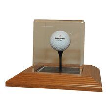 Single Golf Ball Display Case