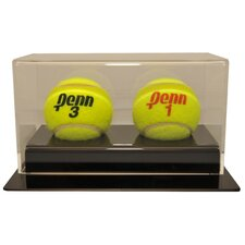 Double Tennis Ball Display Case
