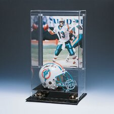 Mini Helmet and Photo Display Case