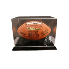 Black Acrylic Football Display Case