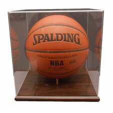 <strong>Caseworks International</strong> Basketball Display Case in Acrylic Base