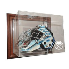 <strong>Caseworks International</strong> NHL Goalie Mask Case Up Display Case in Brown