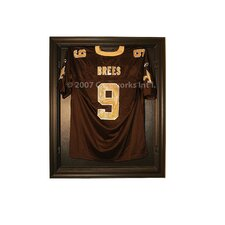<strong>Caseworks International</strong> Full Size Removable Face Jersey Display in Brown