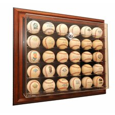 "MLB 30 Baseball ""Case-Up"" Display"