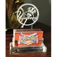 MLB Business Card Holder in Gift Box