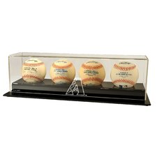 <strong>Caseworks International</strong> MLB Four Baseball Display