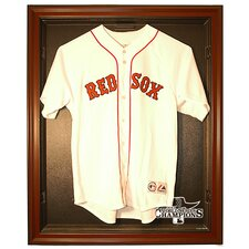 2013 Red Sox World Series Champs Cabinet Style Jersey Display