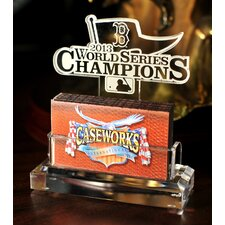 2013 Red Sox World Series Champs Business Card Holder with Gift Box