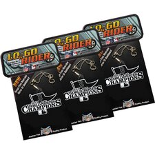 2013 Red Sox World Series Champs  LOwGO-RIDER Team Logo Accessory 3 Pack (Set of 3)