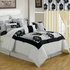 <strong>Lavish Home</strong> Madison 24 Piece Bed in a Bag Set