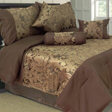 Bailey 7 Piece Jacquard Comforter Set