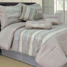 Diana 7 Piece Jacquard Comforter Set