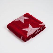 Jacquard Stars Acrylic Throw Blanket