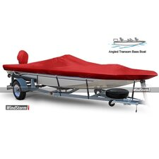 WindStorm Angled Transom Bass Boat Cover