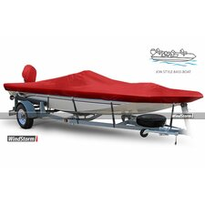 WindStorm V-Jon Boat Cover with High Center Console