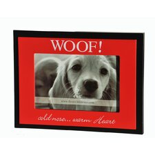 """WOOFCold Nose...Warm Heart""  Picture Frame"
