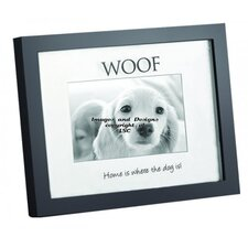 "Home Shadowbox ""Home is Where the Dog is"" Picture Frame"
