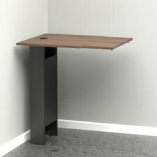 "<strong>Megalak Finition Inc</strong> Next 31.5"" H x 28.75"" W Corner Desk Extension"