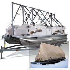 19 to 22½ ft Storage System Fishing-Runabout with Tarpaulin Cover