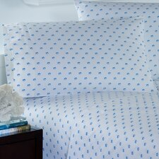 Skipjack 200 Thread Count Printed Cotton Sheet Set
