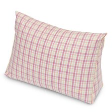 Patio Plaid Yarn Dyed Wedge Pillow
