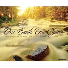 <strong>Willow Creek Press</strong> One Earth, One Spirit 2014 Wall Calendar