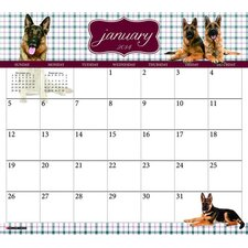 German Shepherds 2014 Magnetic Calendar