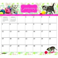 What Cats Teach Us 2014 Magnetic Calendar
