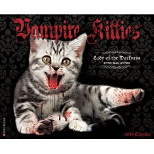 <strong>Willow Creek Press</strong> Vampire Kitties 2014 Wall Calendar
