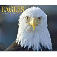 Eagles 2014 Wall Calendar