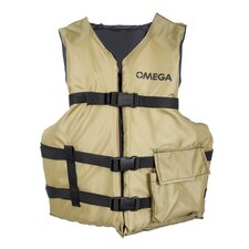 <strong>Omega Watercraft</strong> Angler Fishing Life Vest