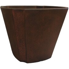 <strong>Planters Online</strong> Fluted Square Pot Planter