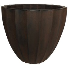 <strong>Planters Online</strong> Scalloped Round Pot Planter