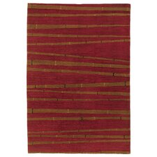 <strong>Artisan Carpets</strong> Chic & Modern Red Rug