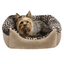 Cuffed Box Nest Dog Bed